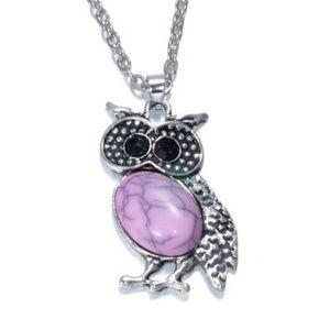 Women's Owl Necklace